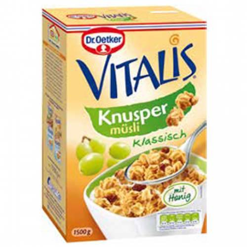 Dr. Oetker Vitalis Knusper-Müsli, 1500 g