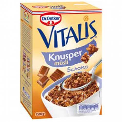 Dr. Oetker Vitalis Knusper-Schoko Müsli, 1500 g