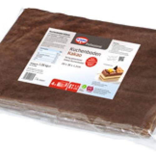 Kuchenboden Kakao 4 x 270g (28x38x1,3cm) UTZ MB