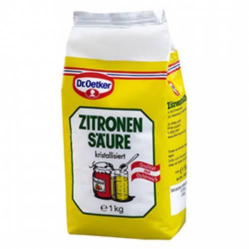Dr. Oetker Zitronensäure, 1000 g