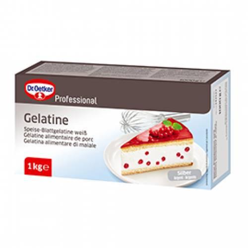 Dr. Oetker Blattgelatine silber, 1000 g