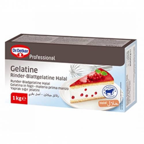 Dr. Oetker Rinder Blattgelatine HALAL, 1000 g