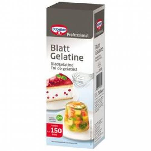 Dr. Oetker Blattgelatine, 500 g